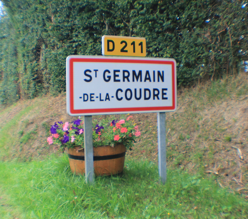 Go to the COMMUNE DE SAINT GERMAIN DE LA COUDRE's page